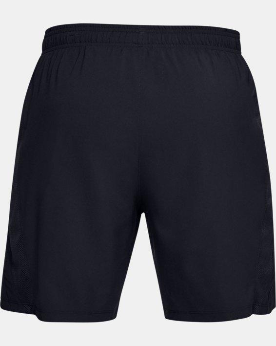 Men's UA Launch SW 7'' Shorts, Black, pdpMainDesktop image number 4