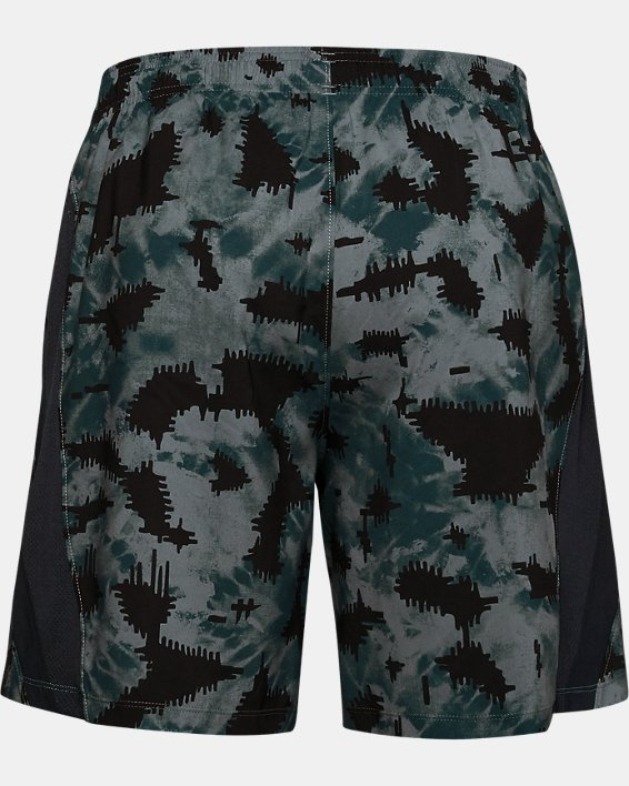 Short UA Launch SW 18 cm Printed pour homme, Blue, pdpMainDesktop image number 4