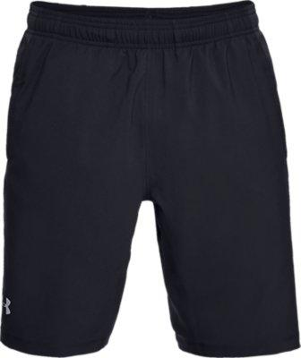 Under Armour UA HeatGear Mens Launch Sw Launch Black Long Running Shorts L