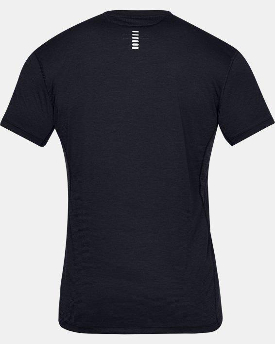 T-shirt à manches courtes UA Streaker pour homme, Black, pdpMainDesktop image number 5