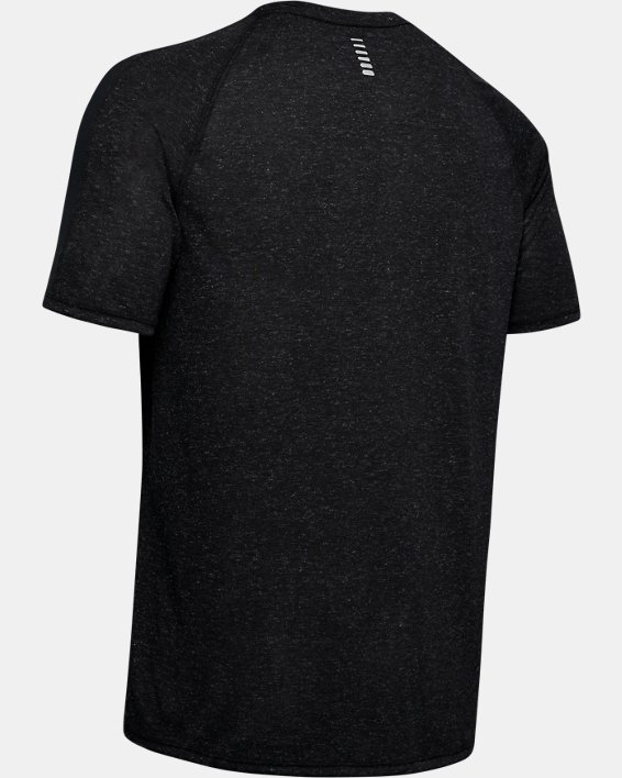 Men's UA Breeze Short Sleeve, Black, pdpMainDesktop image number 4