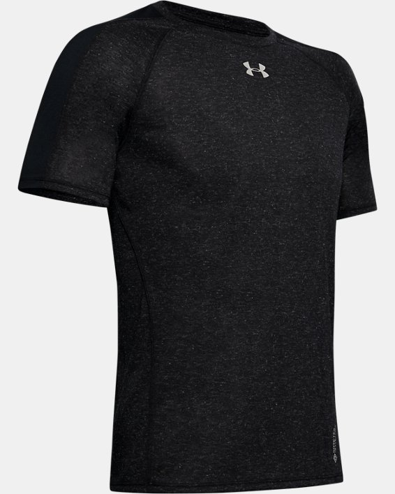 Men's UA Breeze Short Sleeve, Black, pdpMainDesktop image number 3