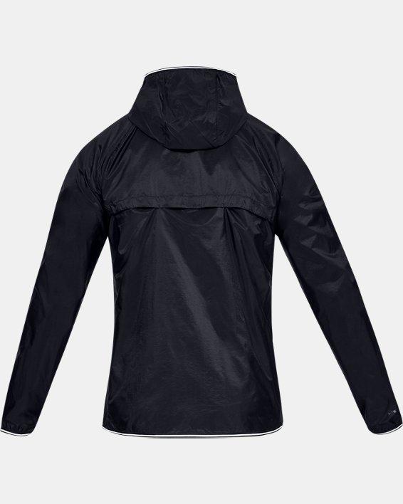 Men's UA Qualifier Storm Packable Jacket, Black, pdpMainDesktop image number 4