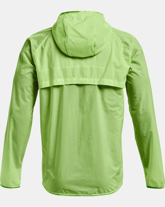 Men's UA Qualifier Storm Packable Jacket, Green, pdpMainDesktop image number 5
