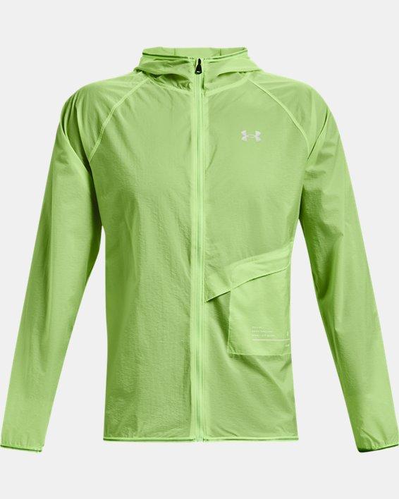 Men's UA Qualifier Storm Packable Jacket, Green, pdpMainDesktop image number 4