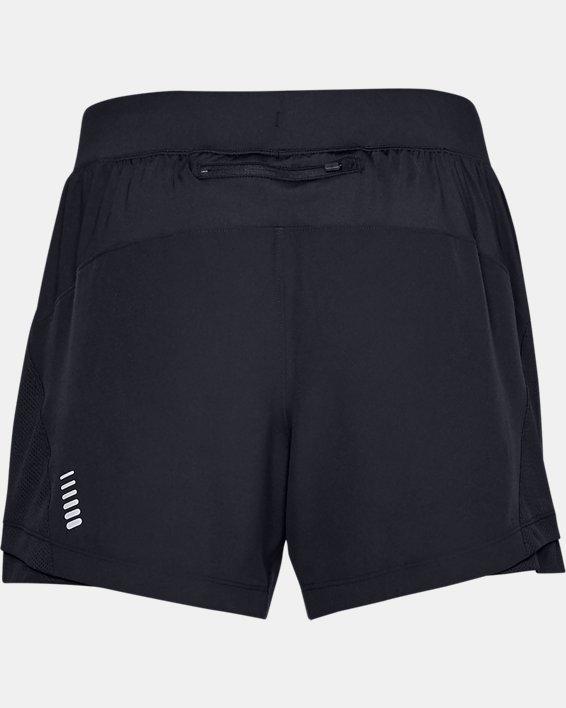 Men's UA Qualifier Speedpocket 5'' Shorts, Black, pdpMainDesktop image number 4