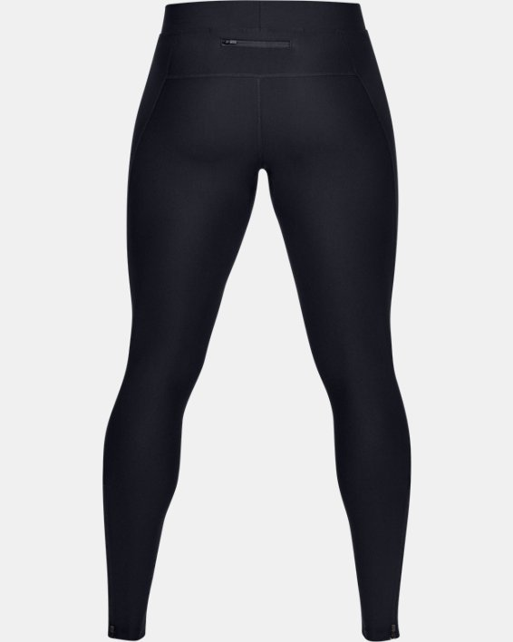 Men's UA Qualifier Tights, Black, pdpMainDesktop image number 4