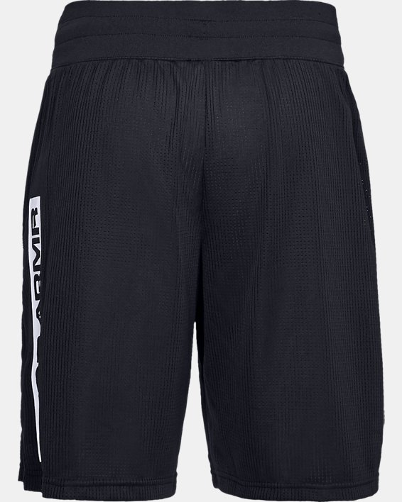 Men's UA Pursuit Court Shorts, Black, pdpMainDesktop image number 5