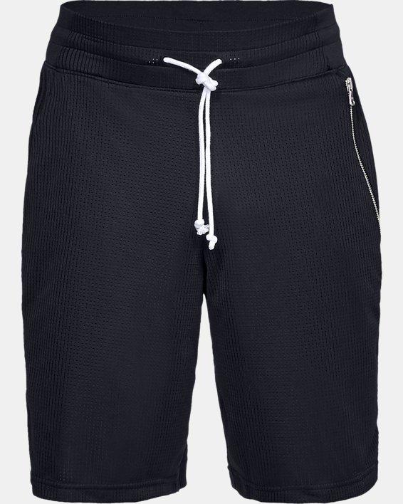 Men's UA Pursuit Court Shorts, Black, pdpMainDesktop image number 4