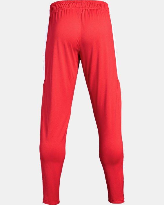 Men's UA Rival Knit Pants, Red, pdpMainDesktop image number 5