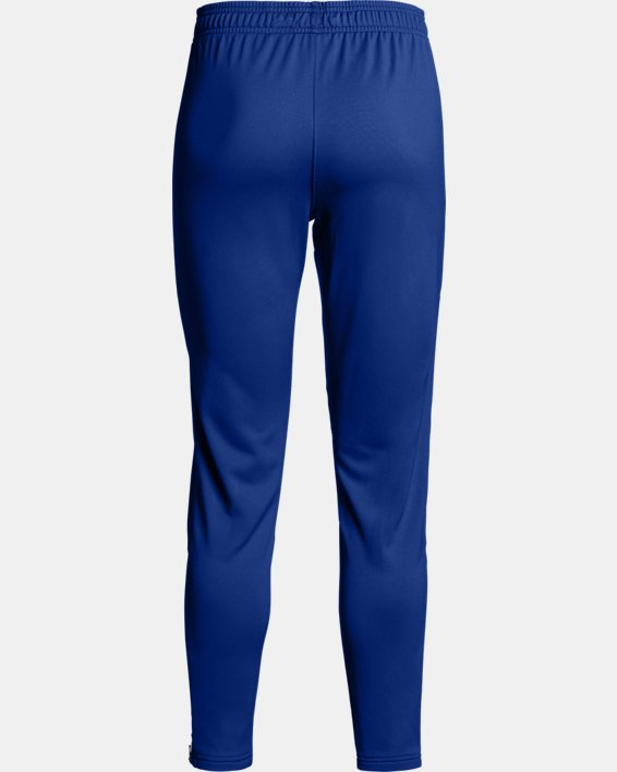 Women's UA Rival Knit Pants, Blue, pdpMainDesktop image number 5