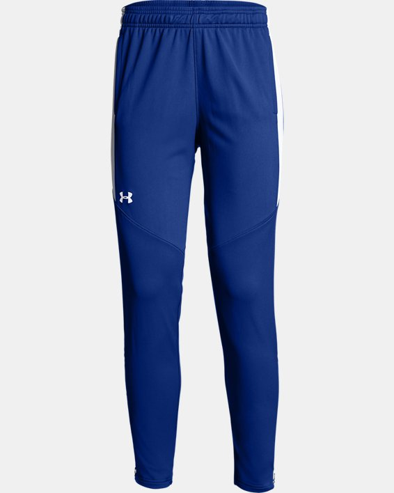 Women's UA Rival Knit Pants, Blue, pdpMainDesktop image number 4