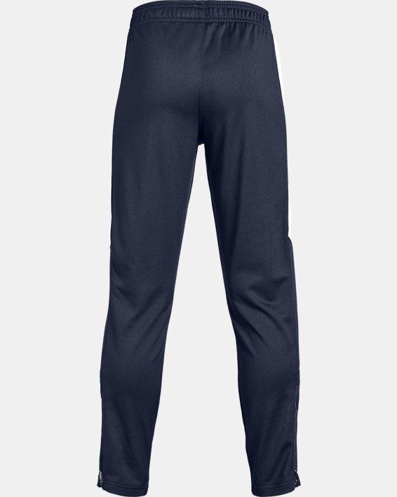 Boys' UA Rival Knit Pants, Navy, pdpMainDesktop image number 1
