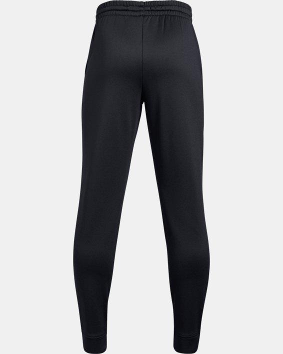 Boys' Armour Fleece® 1.5 Solid Joggers, Black, pdpMainDesktop image number 1