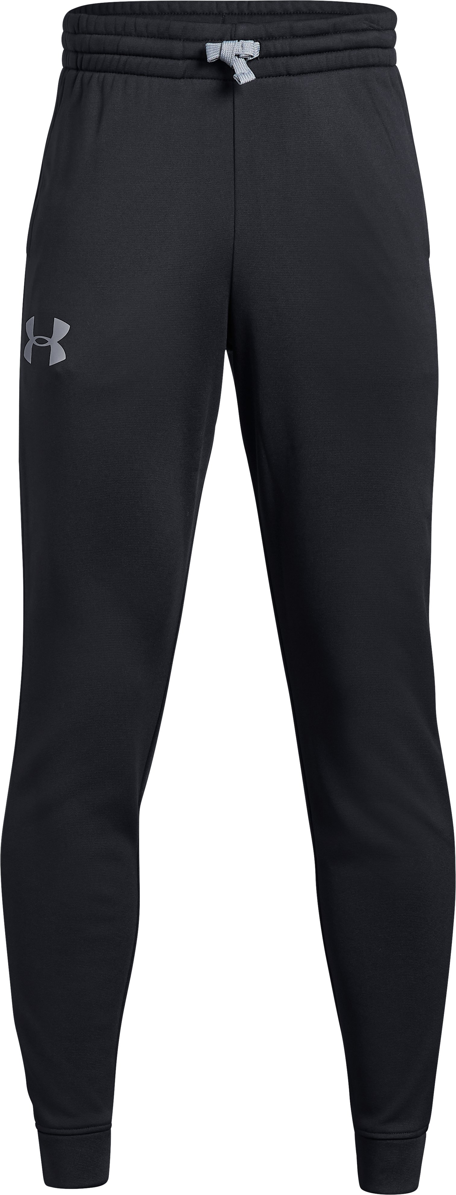 Boys' Armour Fleece® 1.5 Solid Joggers, Black