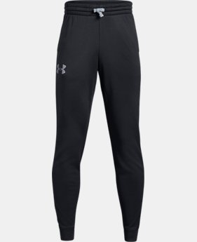 Boys' Armour Fleece® 1.5 Solid Joggers  2  Colors Available $50
