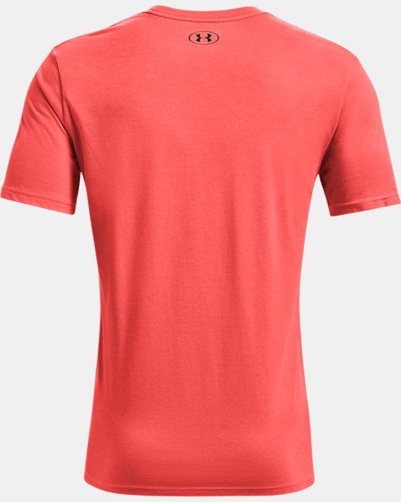 Men's UA GL Foundation Short Sleeve T-Shirt, Red, pdpMainDesktop image number 5