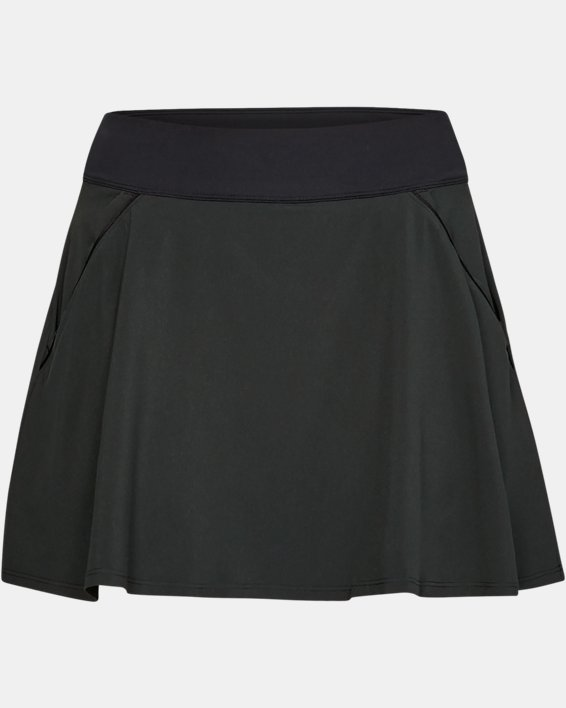 Jupe-short UA Links pour femme, Black, pdpMainDesktop image number 4