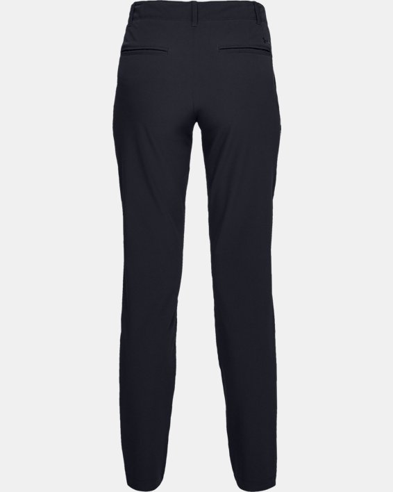 Women's UA Links Pants, Black, pdpMainDesktop image number 5
