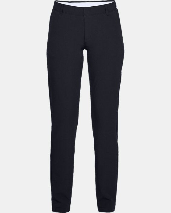Women's UA Links Pants, Black, pdpMainDesktop image number 4