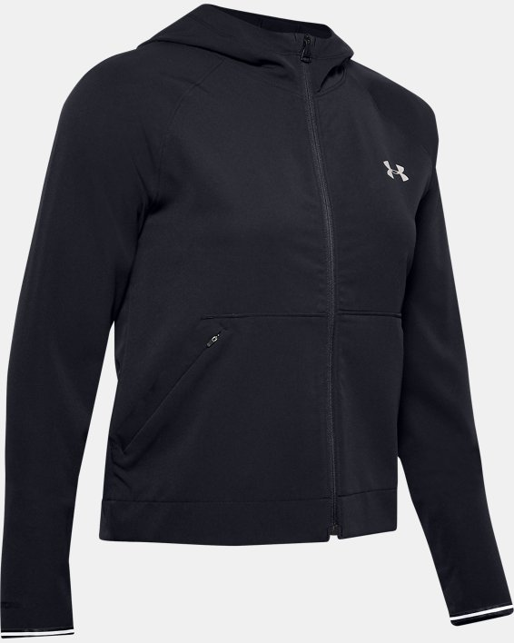 Women's UA Shake It Off 2.0 Jacket, Black, pdpMainDesktop image number 3