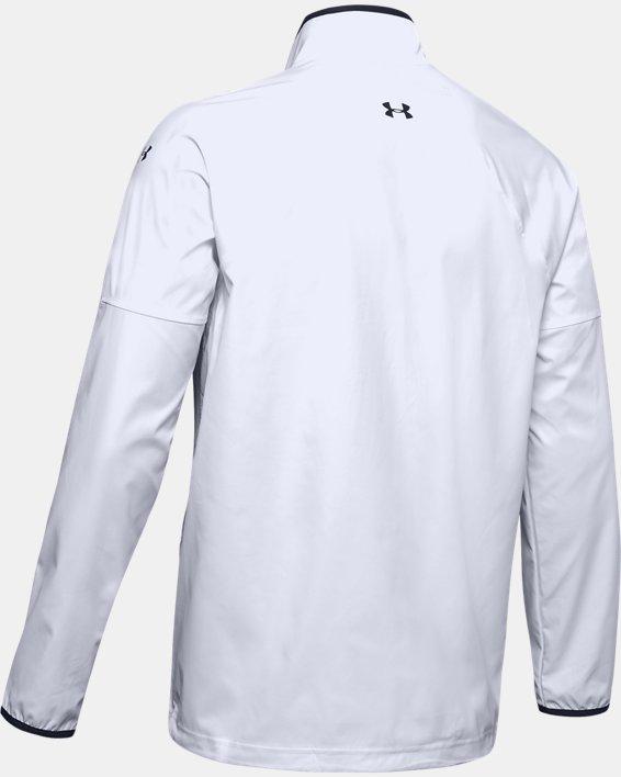 Men's UA Storm Windstrike Full Zip Jacket, White, pdpMainDesktop image number 5