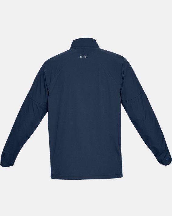 Men's UA Storm Windstrike Full Zip Jacket, Navy, pdpMainDesktop image number 5