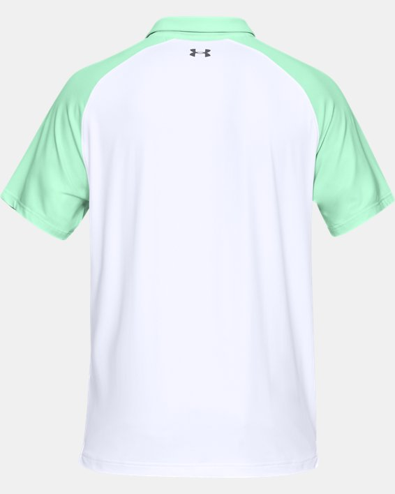 Men's UA Iso-Chill Block Polo, Green, pdpMainDesktop image number 5