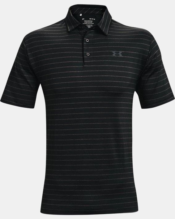 Men's UA Playoff Polo 2.0, Black, pdpMainDesktop image number 4