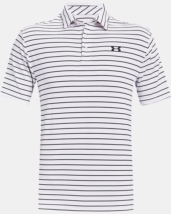 Men's UA Playoff Polo 2.0, White, pdpMainDesktop image number 4