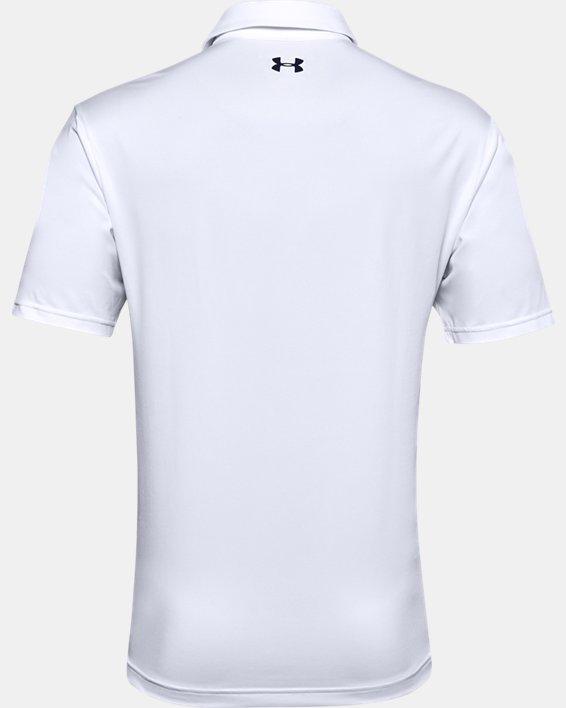Men's UA Playoff Polo 2.0, White, pdpMainDesktop image number 4