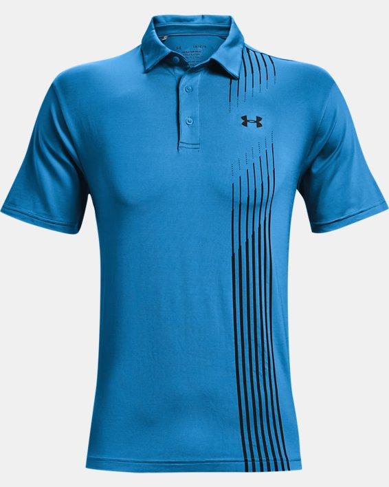 Men's UA Playoff Polo 2.0, Blue, pdpMainDesktop image number 4