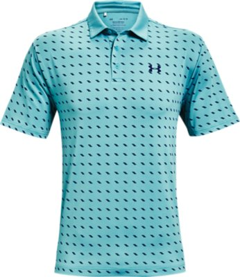LG Short Sleeve Polo Shirt with Sun Protection Green Under Armour Mens Playoff 2.0 T
