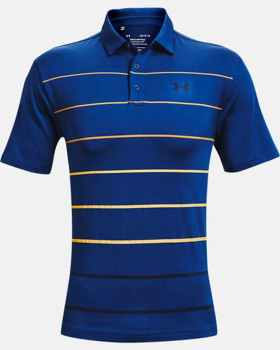 Men's UA Playoff Polo 2.0, Blue, pdpMainDesktop image number 0