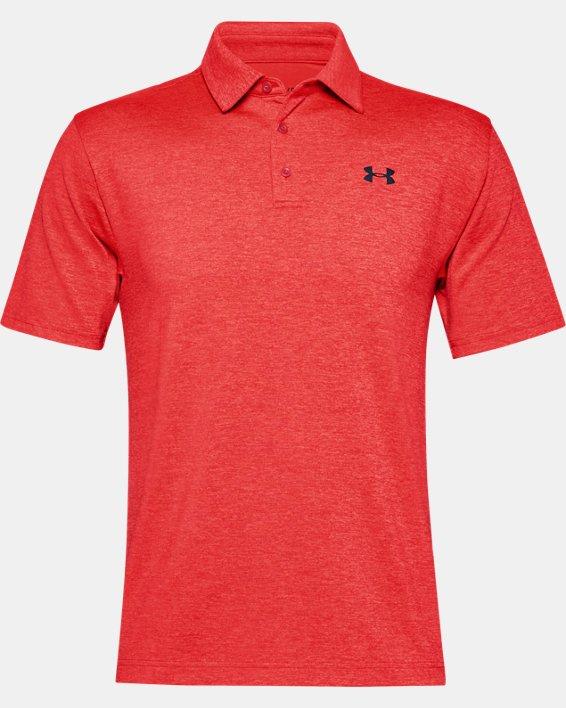 Men's UA Playoff Polo 2.0, Red, pdpMainDesktop image number 3