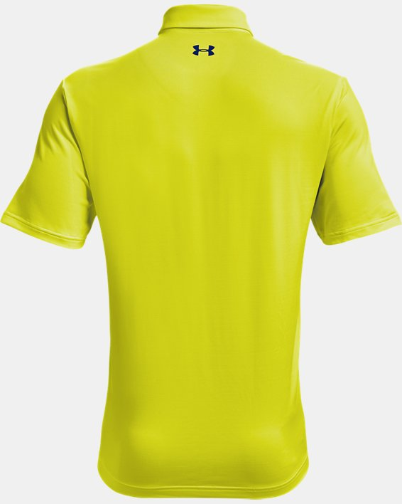 Men's UA Playoff Polo 2.0, Yellow, pdpMainDesktop image number 4
