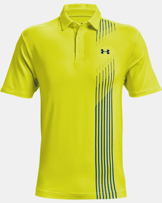Men's UA Playoff Polo 2.0, Yellow, pdpMainDesktop image number 3