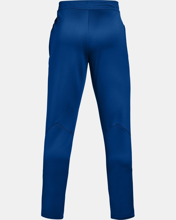 Men's UA Knit Warm-Up Pants, Blue, pdpMainDesktop image number 5