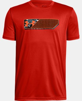 New Arrival Boys' UA Lenticular Duo Logo Short Sleeve T-Shirt FREE U.S. SHIPPING 2  Colors Available $25