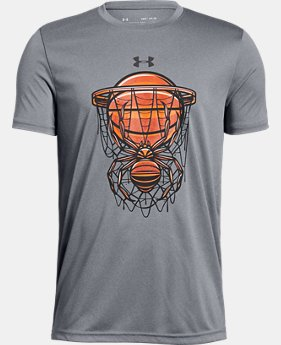 New Arrival Boys' UA Basketball Savage Short Sleeve T-Shirt FREE U.S. SHIPPING 1  Color Available $20
