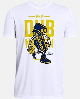 Boys' SC30 Dub Nation Short Sleeve T-Shirt  1  Color Available $25