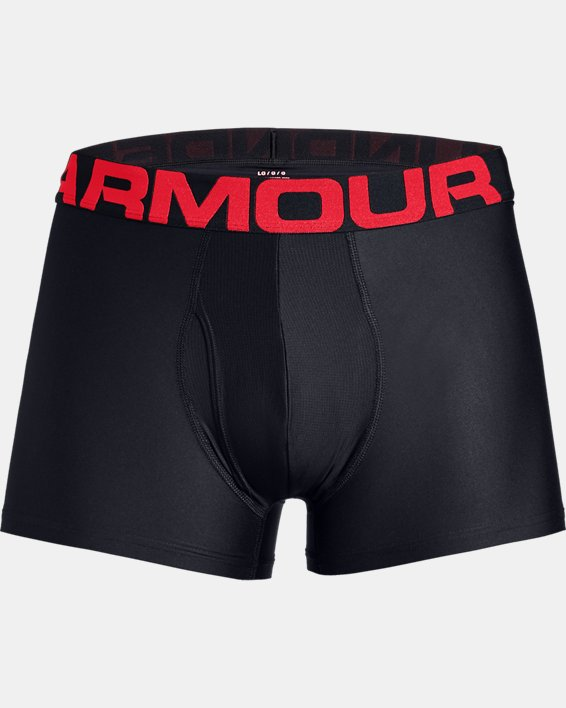 "Men's UA Tech™ 3"" Boxerjock® – 2-Pack, Red, pdpMainDesktop image number 3"