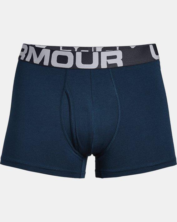 "Men's Charged Cotton® 3"" Boxerjock® – 3-Pack, Blue, pdpMainDesktop image number 3"
