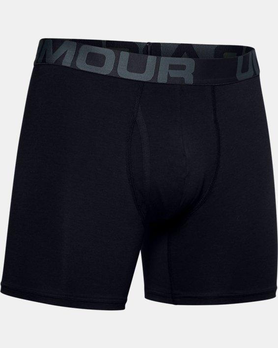 """Men's Charged Cotton® 6"""" Boxerjock® Novelty – 3-Pack, Black, pdpMainDesktop image number 2"""