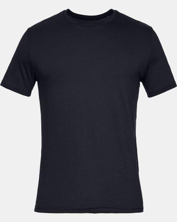 Men's Charged Cotton® Crew Undershirt – 2-Pack, Black, pdpMainDesktop image number 2