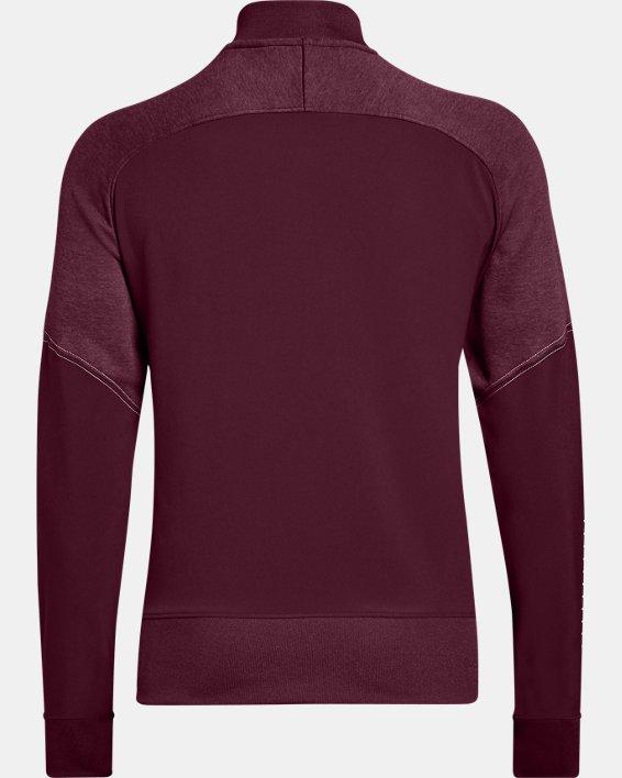 UA - Veste d'échauffement en tricot pour femme, Red, pdpMainDesktop image number 5