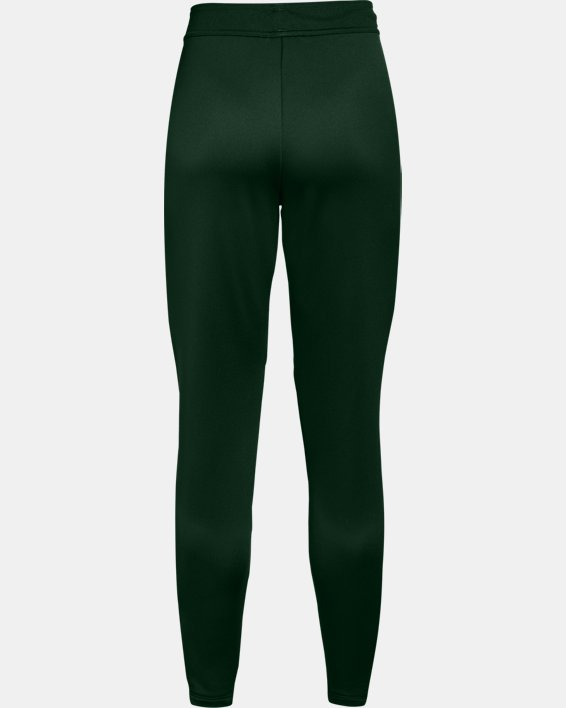 Women's UA Knit Warm-Up Pants, Green, pdpMainDesktop image number 1