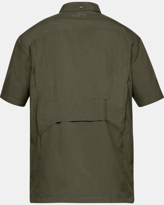 Men's UA Tac Hunter Short Sleeve, Green, pdpMainDesktop image number 4