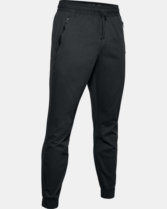 Men's UA Performance Chino Joggers, Gray, pdpMainDesktop image number 4