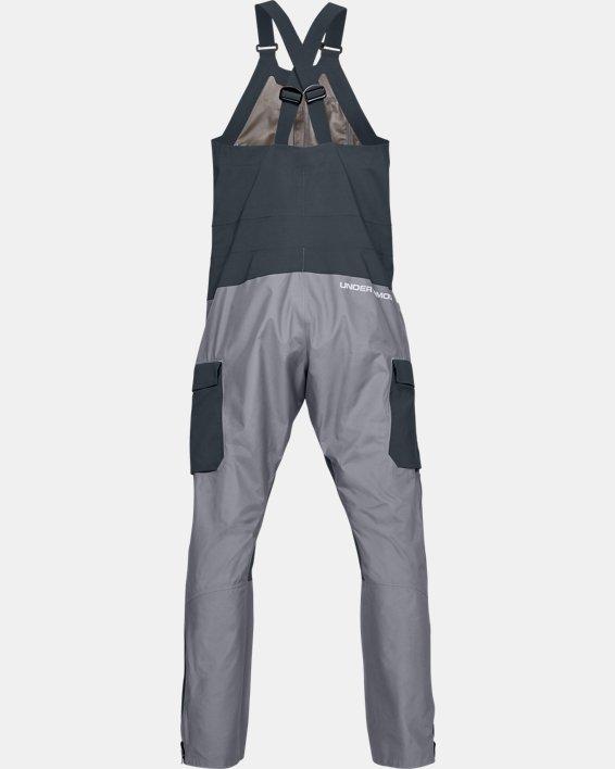 Men's UA GORE-TEX®  Shoreman Bib, Gray, pdpMainDesktop image number 5